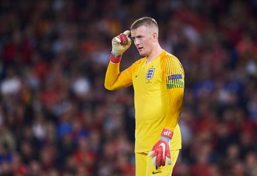Pickford played a crucial role in the buildup to England's first two goals
