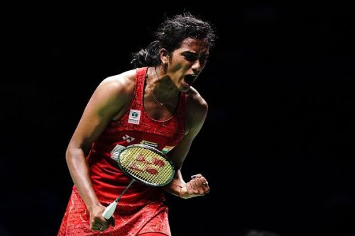 PV Sindhu is the only Indian on the list