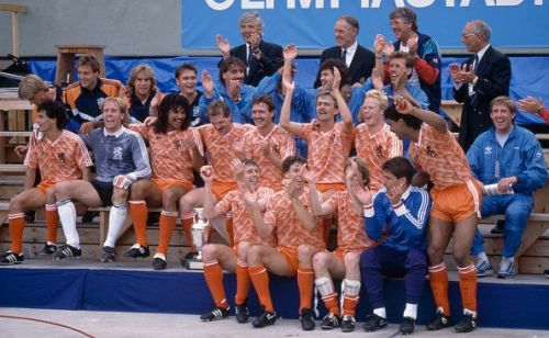 Euro 1988: To date, the Netherlands' only major trophy