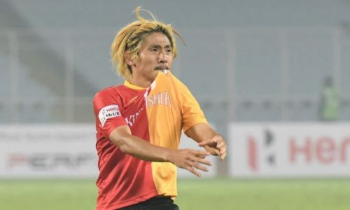Katsumi Yusa will have a major say in the outcome of the match against his former side