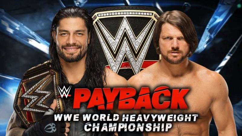 This epic match-up took place at WWE Payback