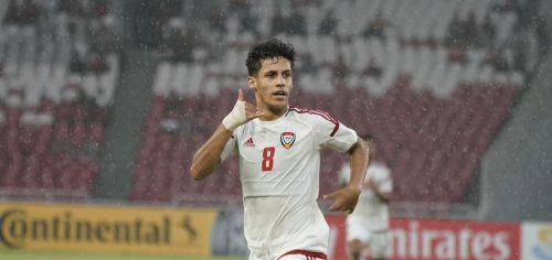 Ali Saleh from Emirates was simply sensational in their opening game (Image Courtesy: AIFF)