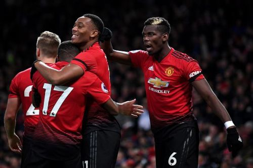Manchester United with a satisfactory performance at Old Trafford to gain three important points.