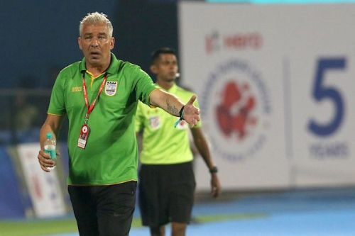 Jorge Costa was in charge for his first ISL game against Jamshedpur FC tonight (Image: ISL)