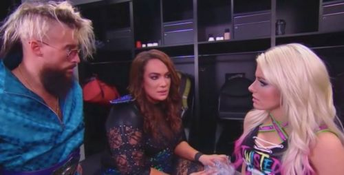 A love triangle between Alexa Bliss, Nia Jax and Enzo Amore could have been one of the hottest WWE story-lines
