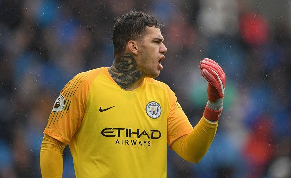 Ederson is quite extraordinary with the ball at his feet