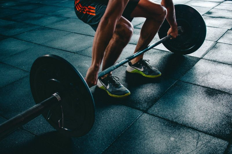 Deadlifts are very effective for toning the muscles in the lower body