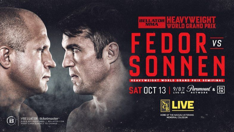 Bellator 208 has one of the best possible fights as the main event!