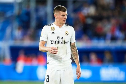 Kroos has looked out of sorts this season