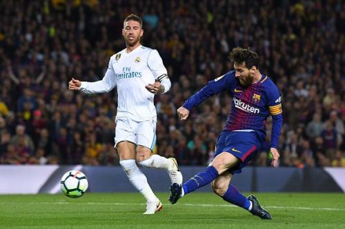 Barcelona vs Real Madrid is mostly a high-intensity game