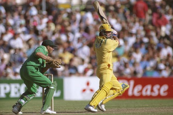 Mark Waugh of Australia