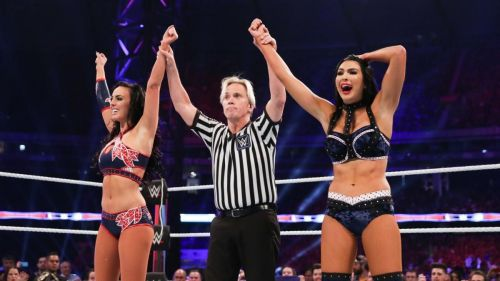 Billie and Peyton are shocked to actually win.