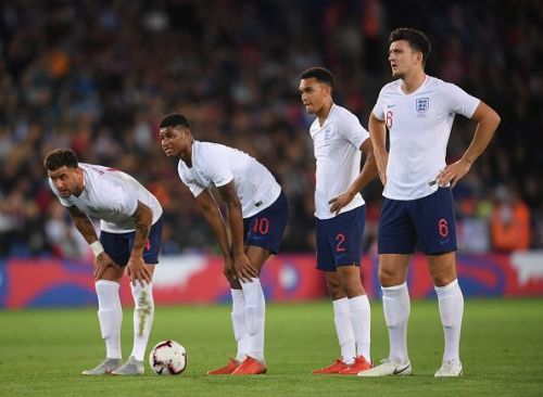 Marcus Rashford's second-half goal saw England through against Switzerland
