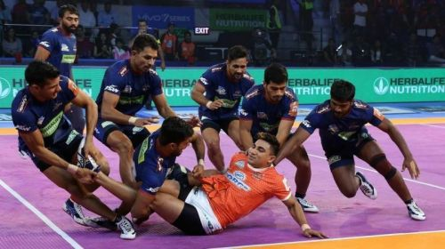 Nitin Tomar did the bulk of scoring for the Puneri Paltan