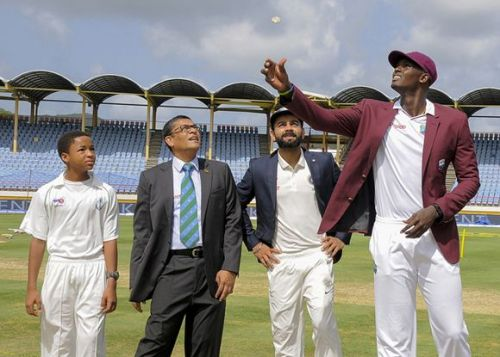 West Indies never gave any anxious moments to the Indian fans