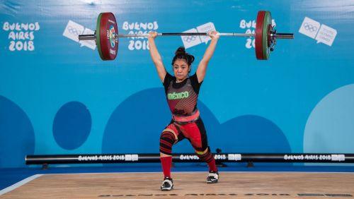 Gold medallist Yesica Yadira Hernandez Vieyra from Mexico (Image Courtesy: IOC)