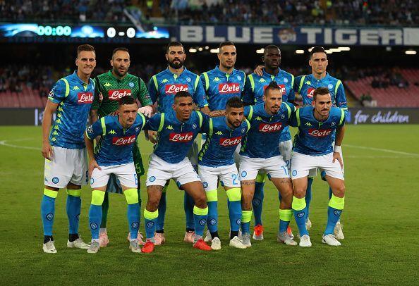 Ssc Napoli V Liverpool Uefa Champions League Group C