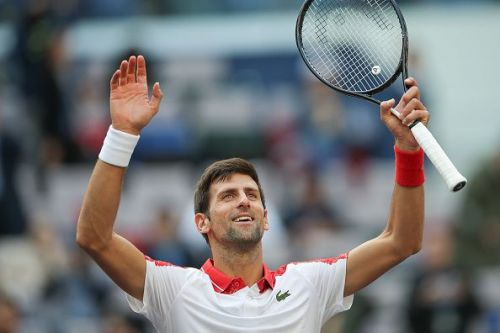 The Serbian star completed an emphatic victory on Thursday, October 11