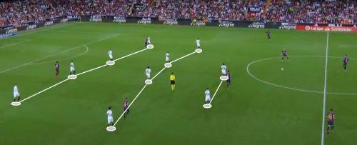 Valencia's defensive structure