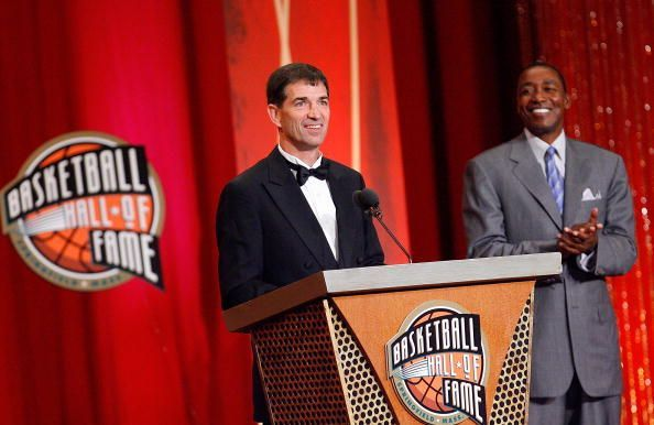 Hall of Famer, John Stockton