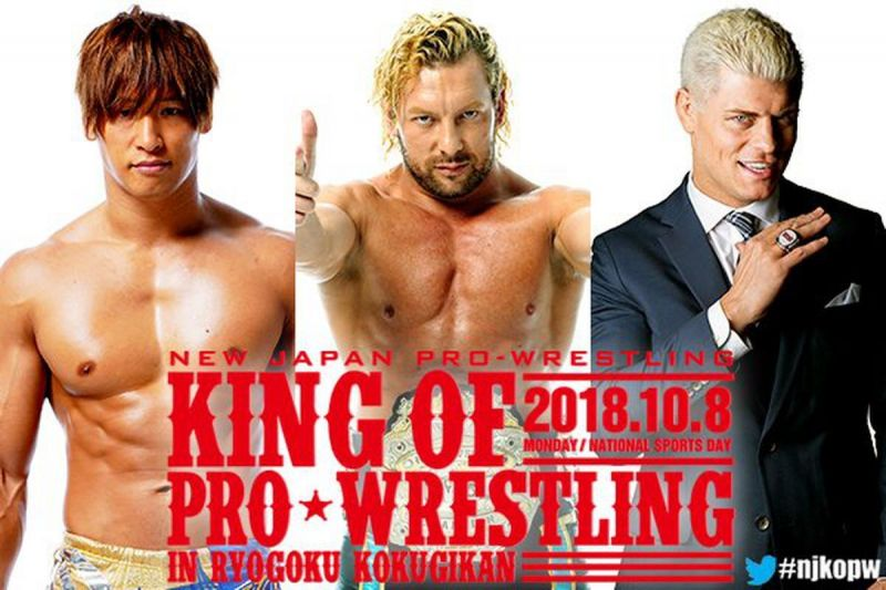 Change comes to New Japan with Justifiable consequence!