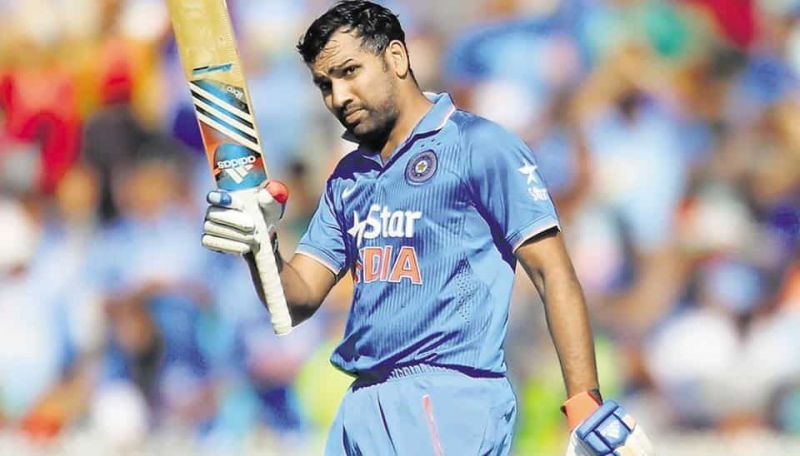Rohit Sharma was lucky to get a long run in the initial period