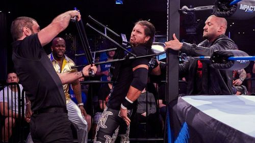 Moose, Austin Aries and Killer Kross are a power stable in Impact Wrestling
