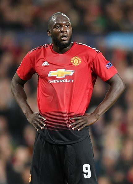 Romelu Lukaku delivered a substandard performance for United tonight
