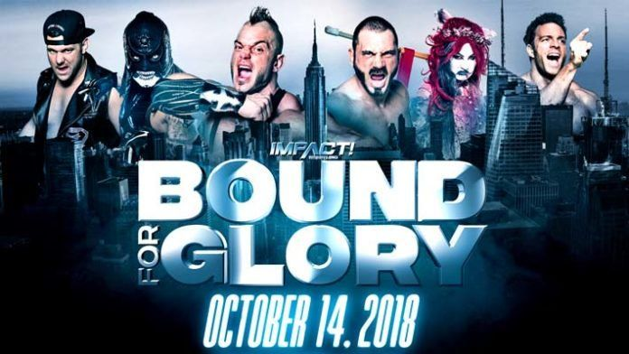 The official poster of Bound for Glory 2018