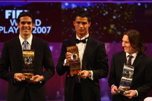 2007 FIFA World Player of the Year Awards from which the journey started