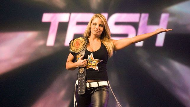 Image result for trish stratus hardcore champion