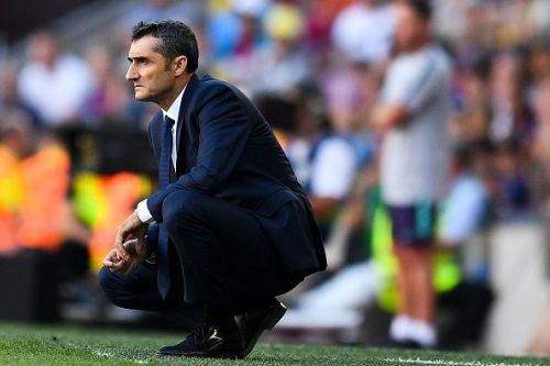 Valverde's time at the Camp Nou may be numbered