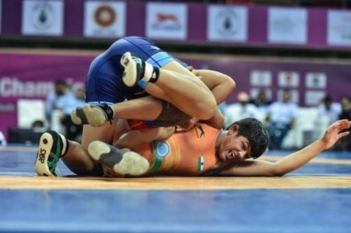 Mansi Ahlawat will fight it out in the Wrestling Freestyle 57kg category today