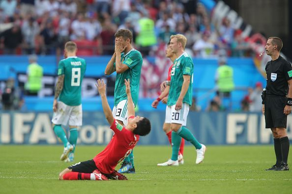 Germany was beaten by South Korea on their way to exiting the 2018 World Cup