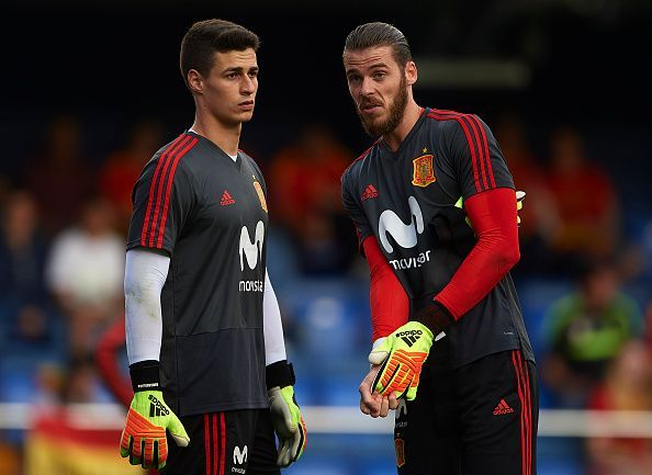 In Kepa and De Gea, Spain have two of the Premier League's top goalkeepers