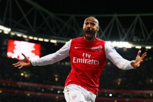 Thierry Henry of Arsenal