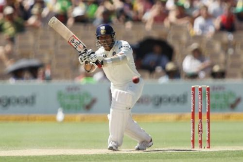 Sachin played his last Test match against the Windies in the 20013/14 series. Coincidentally, this was the 2nd Test match of the series.