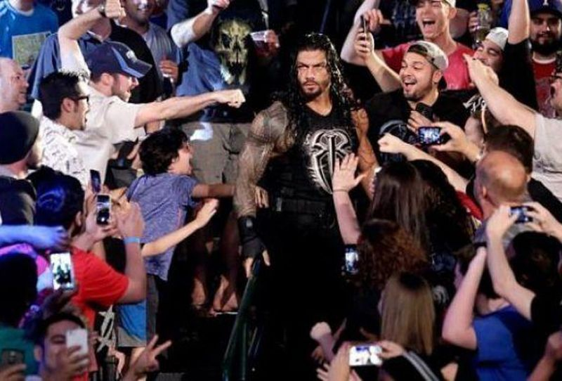 Reigns does have his fair share of fans though!