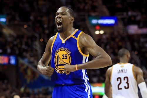 Kevin Durant against the Cavaliers