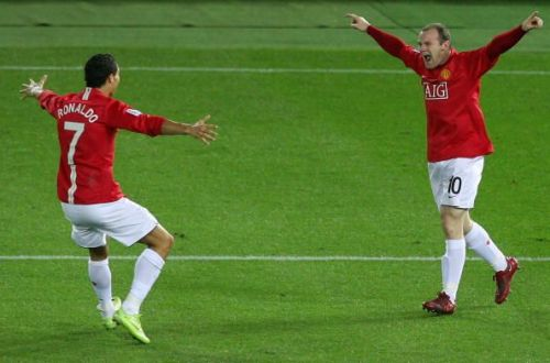 Where do Rooney and Ronaldo rank among the greatest attacking partnerships of all time?
