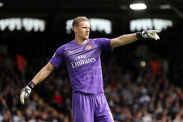 Bernd Leno will keep his place in the place of injured Cech.