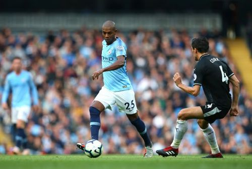 Fernandinho played a crucial role in the match against Burnley