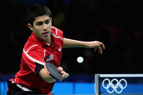 Bronze medalist Kanak Jha from the United States