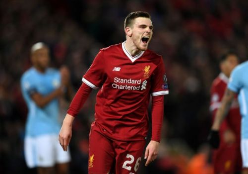 Robertson has been a glowing success at Liverpool.