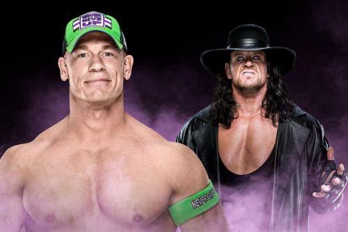 The Undertaker vs John Cena