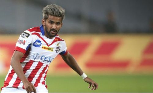 ATK winger Jayesh Rane feels that the lack of intent from the forwards is the main reason the Kolkata based team lost the first two matches (Image Courtesy: ISL)