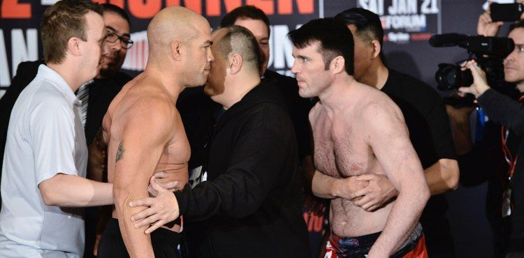 Sonnen moved to Bellator in 2017 to face off with Tito Ortiz