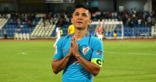 Sunil Chhetri will need to bring out his best against China.