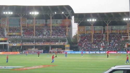 An IPL match at Kanpur