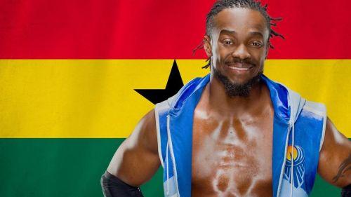 Africa's biggest WWE star